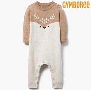 Gymboree Deer Knit One-Piece
